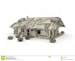 vintage car origami made from dollar bills stock photography