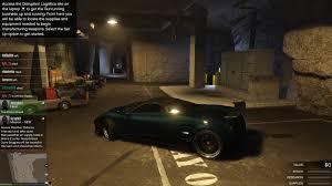 you can drive your car in a bunker grandtheftautov gtav gta5