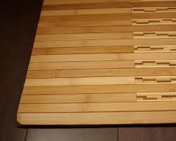 Nautical Bath Mat Amazon Com Anji Mountain Amb0090 2032 Bamboo Kitchen And Bath Mat