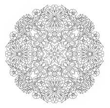 amazing free printable mandala coloring pages for adults image 27