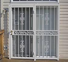 Security Bars For Patio Doors Security Doors U2013 Master Seal