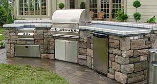 outdoor kitchen countertop ideas the best outdoor kitchen countertops for your outdoor kitchen
