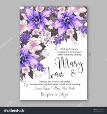 Wedding Invitation Card With Photo Wedding Invitation Card With Abstract Floral Background 2596195