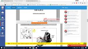 manitou forklift parts manual youtube
