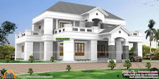 luxurious pillar type home design kerala home design and floor plans
