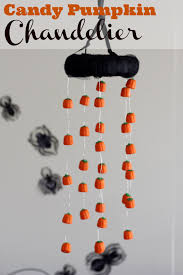 halloween candy chandelier diy catch my party