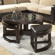 coffee table flexible round cocktail table home furniture and