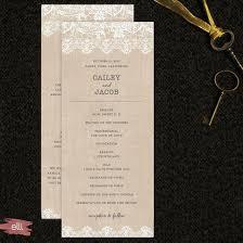 Easy Wedding Programs Diy Wedding Favors And Décor Made Easy The Elli Blog