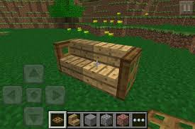 How To Build A Sofa Table by How To Make Furniture In Minecraft Pe Snapguide