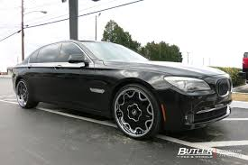 lexus forgiato bmw 7 series with 22in forgiato fiore wheels exclusively from