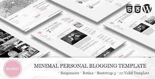 ibloggo minimal personal blog wordpress theme by designingmedia