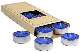 blue tea light candles blueberry cobbler tea lights scented tealight candles