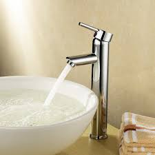 proper placement of a vessel sink faucet tags 47 shocking vessel