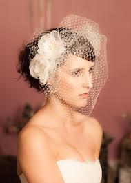 voilette mariage voilette de mariée rétro birdcage visage entier avec fleur