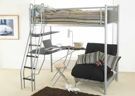 White Futon Bunk Bed White Futon Bunk Bed With Desk Futons Home Design Ideas