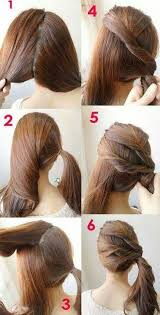 cool step by step hairstyles tutorials cool and easy hairstyles pretty designs