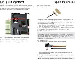 free download manual for pkm hmg airsoft aeg instruction