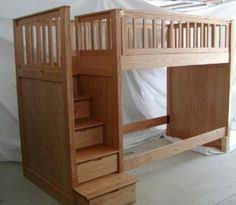 Build A Loft Bed With Storage by Bunk Bed Plans Bunk Beds With Stairs By Dshute Lumberjocks