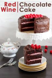 red wine chocolate raspberry cake video happy foods tube
