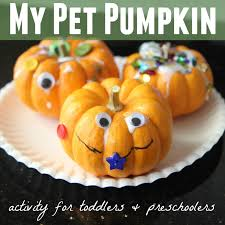 toddler approved my pet pumpkin activity