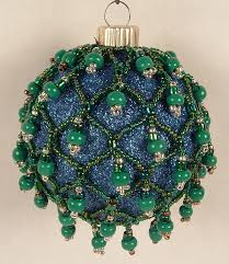 beaded ornament the crafty