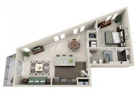 chambre en 3d plan 3d appartement 1 chambre 24