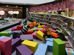 furniture awesome playroom ideas with bookshelving and recessed