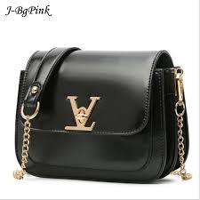 2017 summer new women messenger bag fashion v lock lady small