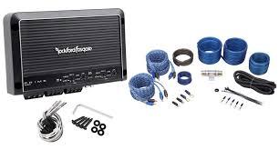 rockford fosgate r250x4 250 watt rms 4 channel car amplifier amp