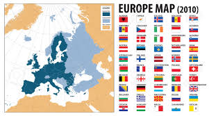 Turkey Map Europe by Europe Map And Flags Including Turkey Kosovo Armenia