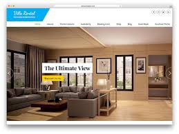 website to design a room 30 best hotel apartment vacation home booking wordpress themes