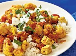 Indian Style - indian style tofu and cauliflower with chutney recipe myrecipes