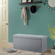 colorful foldable storage ottoman with lid u2014 railing stairs and