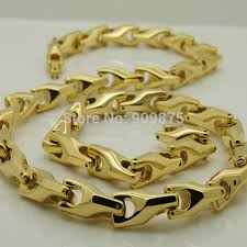 aliexpress buy new arrival fashion shiny gold plated vary length 14 40 8mm width unique gold plating classic design