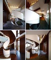 interior furniture cool spiral staircases design pictures