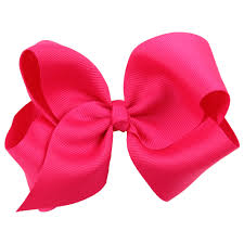 1pc children kids lovely big ribbon hair bows boutique