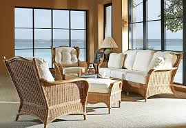 Living Room Wicker Furniture Wicker Furniture In Venice Fl And Rattan Furniture