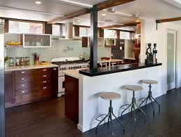 Rustic Kitchens Designs Awesome Modern Rustic White Kitchen My Home Design Journey