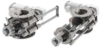 sanitary stainless steel rotary airlock valve prater