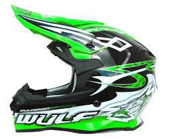green motocross helmets wulfsport sceptre motocross motorbike motorcycle helmet
