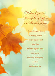 thinking of you on thanksgiving thanksgiving card cardstore