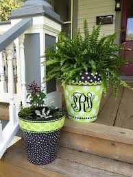 Painting Garden Pots Ideas Painting Clay Pots Best 25 Painting Clay Pots Ideas On Pinterest