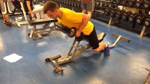 Incline Bench Dumbbell Rows Face Down Incline Bench Db Row Youtube