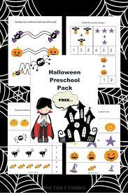printable halloween pictures for preschoolers free halloween printable pack for preschoolers