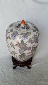Ginger Jar Vase Imari Gold Ginger Jar Vase With Lid Porcelain Japanese