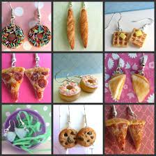 food earrings food earrings by littlesweetdreams on deviantart