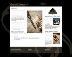 maine coast builders shoofly creative website design