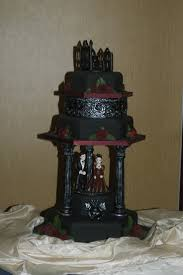 Halloween Themed Wedding Cakes 67 Best Halloween Wedding Cakes Images On Pinterest Halloween