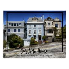 Design Your Own New Home Cards Moving Announcement Postcards Zazzle