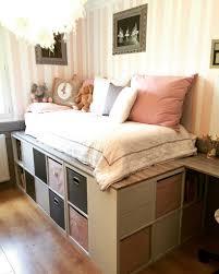 gain de place chambre deco pour chambre fille 10 diy un lit dressing gain de place